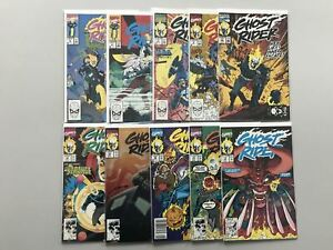 Lot of 19 Ghost Rider (1990 2nd Series) from #2-43 VF Very Fine