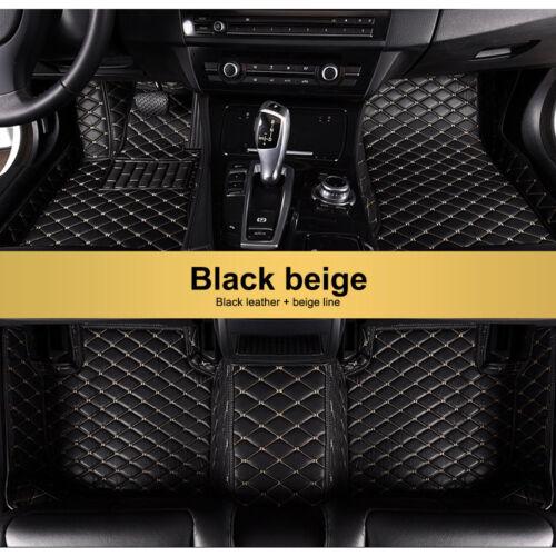 Floor Mats For 2009-2018 Dodge Ram 1500 2500 3500 Black/&Red FloorLiner Carpets