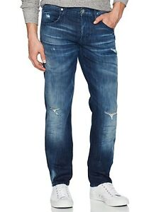 Hudson-Jeans-Men-039-s-Blake-Slim-Straight-Leg-Jeans-Distressed-Freestyle-Vicious