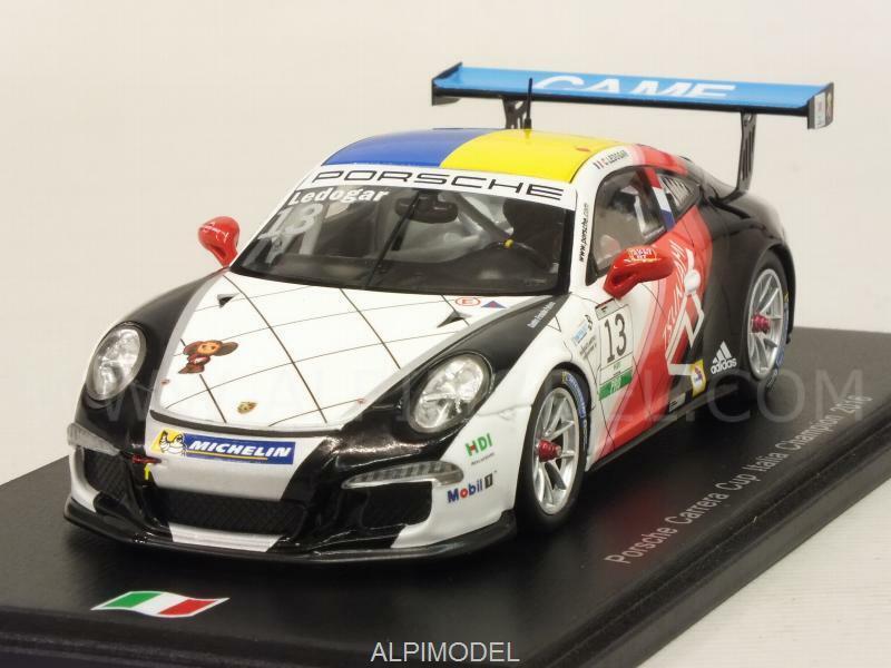 Porsche 911 Carrera Cup Italia Champion 2016 C.Ledogar 1 43 SPARK SI005