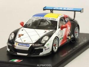 Porsche 911 Carrera Cup Champion d'Italie 2016 C.ledogar 1/43 Spark Si005