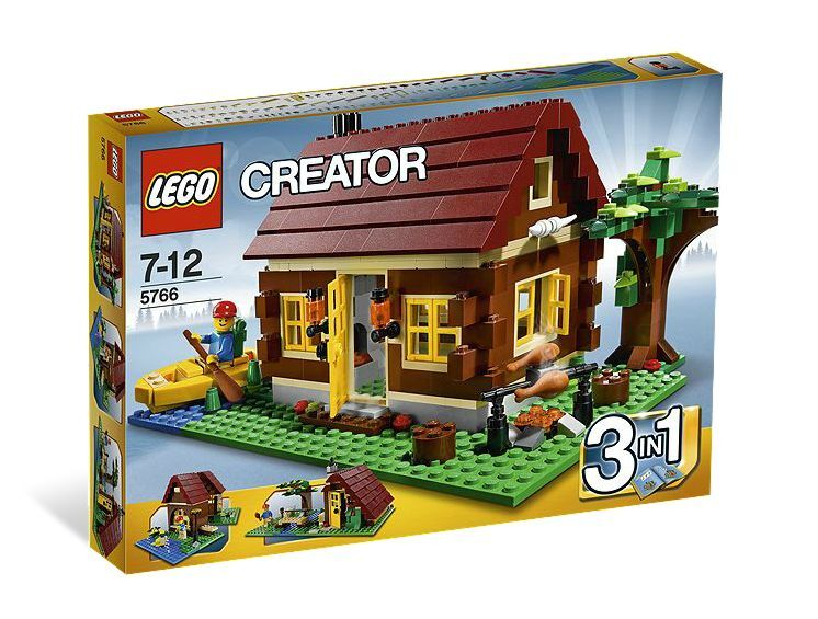 LEGO ® Creator 5766 CASA BLOCCO NUOVO OVP _ LOG CABIN NEW MISB NRFB