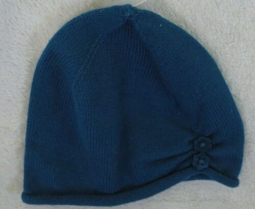 Gymboree Baby Girl Infant Cap Hat  Dark Teal Size 6-12 Months NWOT