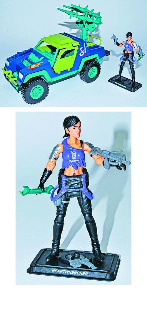 G.I. Joe Collector's Club Exclusive Dreadnok Stinger w Heartwrencher Hasbro JC