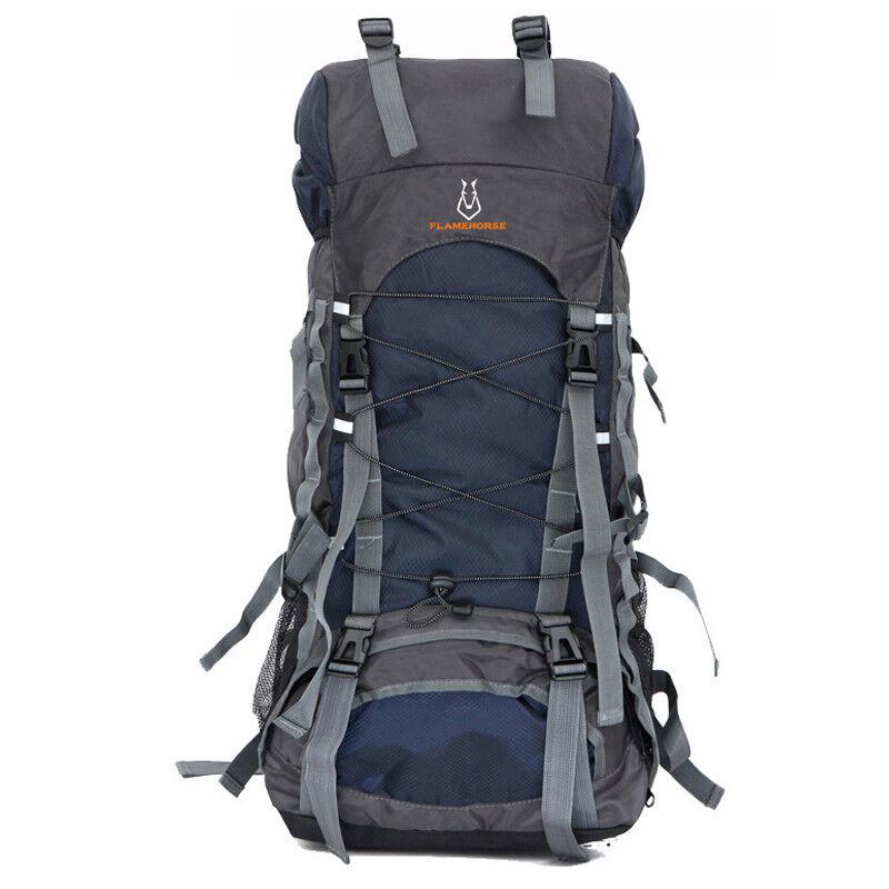 caliente 60L NylonOxford Waterproof Dry borsa all'aperto High Quality Travel Backpack uomini