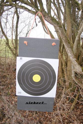 Bogensport Zielscheibe für Beginner Scheibe 80x10 cm bis 50 LBS Schießscheibe