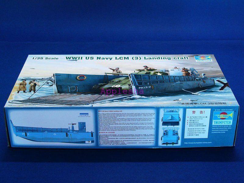 Trumpeter 00347 1 35 U.S. Navy LCM (3) Landing Craft