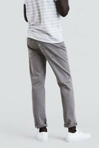 615e96638b4 Levis Jeans Mens 511 Slim Fit Bi - Stretch Chino Steel Grey Ship ...