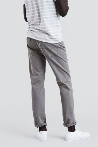 d1273f4983a Levis Jeans Mens 511 Slim Fit Bi - Stretch Chino Steel Grey Ship Worldwide