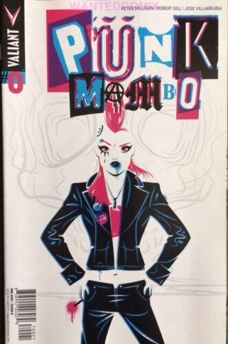 PUNK MAMBO #0 COVER B HUGHES VARIANT COVER 2014 VALIANT COMIC BOOK NEW 1