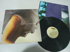 "Die Union 4 Por 4 Wea 1987 Spain Edition - LP vinyl 12 "" VG/G Dg"