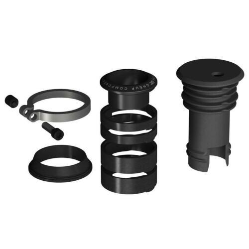 OneUp EDC Stem Cap//Preload Kit Black