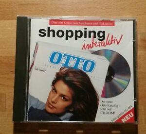 Otto Versand Katalog CDROM 1994 Rarität Erstausgabe Sammler Cindy Crawford