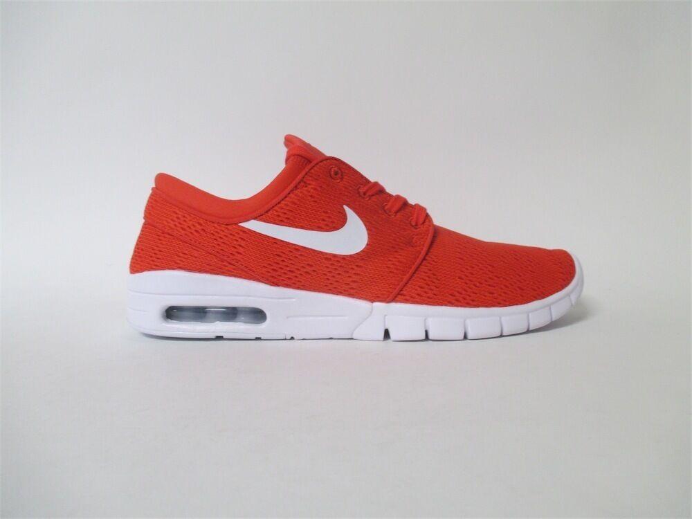 Nike SB Janoski Max Track Rosso bianca Sz 12 631303-611