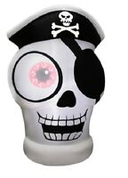 5 Ft. Inflatable 1-eyed Pirate Skull