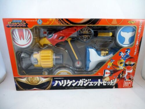 2002 Bandai Japan Sentai Hurricanger DX Triple Gadget NMIB Power Rangers Morpher
