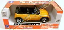 MINI COOPER S CONVERTIBLE 1:43 DIECAST NEW-RAY CITY CRUISER RED BOX RARE