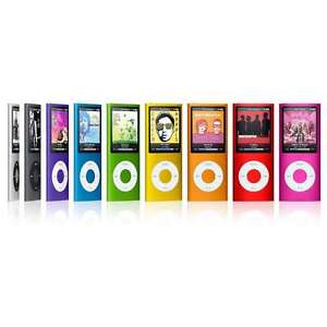 Apple iPod Nano 4th Generation All GB 8GB & Higher - Used - Tested ...