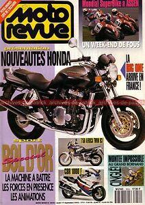 MOTO-REVUE-3054-KAWASAKI-ZXR-7-750-56eme-BOL-D-OR-1992-HONDA-CB-1000-Big-One-CBR