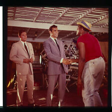 Dr. No James Bond Sean Connery Jack Lord photo original 1962 transparency slide