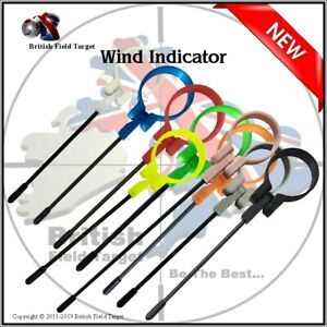 Carbon-Fiber-Field-Target-Sport-Rifle-Wind-Indicator-Various-Colours-amp-Sizes-New