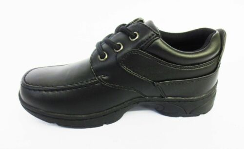 Boys Cool 4 School Black Lace Up Shoes N1094