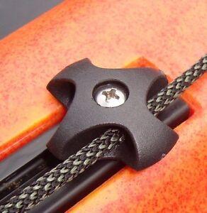 """3.25/"""" Anchor Jam Cleat for Native /& Evoke Kayak Slide Rail Track"""