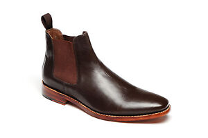 Mens-Catesby-3013-Brown-All-Leather-Goodyear-Welted-Sole-Chelsea-Boots-UK-7-12
