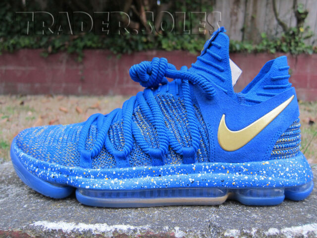 best service b38be bb0e1 DS Nike Zoom Air KD X Finals PE Warriors Sz 14 Finals Celebration Flyknit  Presto