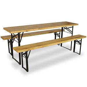 Bierzeltgarnitur-Eiche-Massiv-Festzeltgarnitur-Biertisch-Set-Garnitur-Sitzgruppe