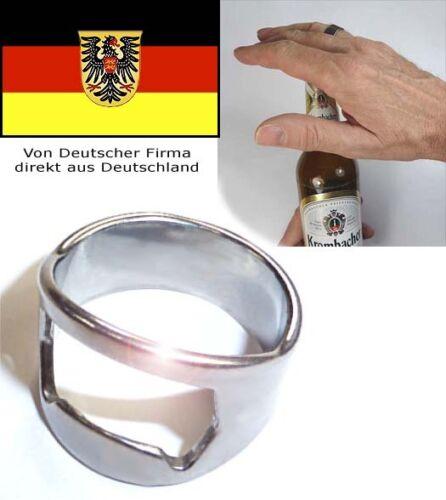 Ring als Flaschenöffner Größe 22 als ob Sie zaubern könnten