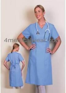 Fashion Seal Scrub Dress Ciel Blue 7200