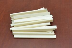 "5 Pièces Guitare Buffalo Bone Saddle Blanks 5"" X 3/8"" X 3 Mm #t-660-afficher Le Titre D'origine Quell Summer Soif"