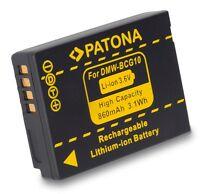 Ersatz-akku Für Panasonic Lumix Tz18, Tz22, Tz25, Tz31, Zx1, Zx3 - Dmw-bcg10e