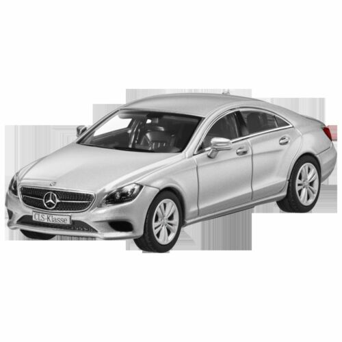 Mercedes bemz c 218 CLS clase Coupe Facelift 2015 iridiumsilber 1:43 nuevo embalaje original