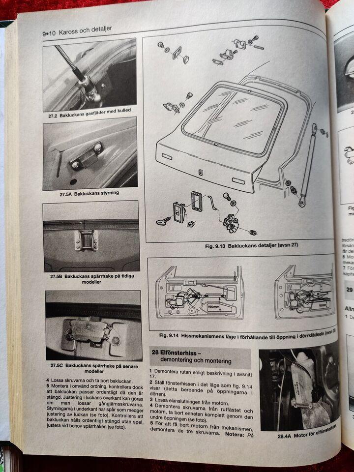 Reparationshåndbog Haynes 3041, Volvo 340, 343