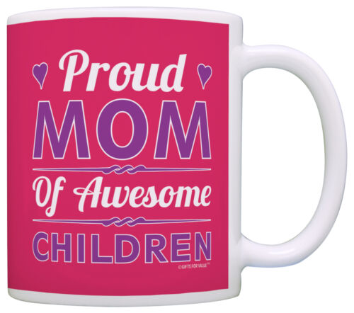 Mother/'s Day Gift Proud Mom of Awesome Children Mom Gifts Coffee Mug Tea Cup