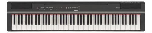 Klavier transportabel gewichtete Tasten Yamaha P-125B Epiano Stagepiano elektr
