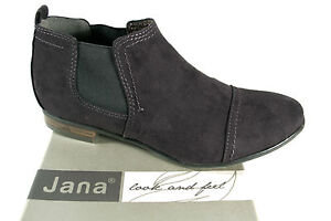 the best attitude 6690c 74b74 Details zu Jana Stiefelette, Stiefel, Slipper, Boots, weiche Innensohle,  schwarz NEU