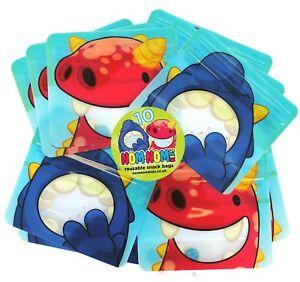 Réutilisable Snack Sacs X 10-Nom Nom Enfants au lave-vaisselle Snack Pack, BPA GRATUIT!  </span>