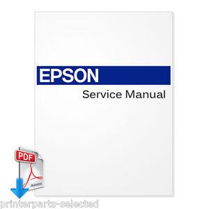 English Service Manual for EPSON Stylus Pro 4800 / 4400