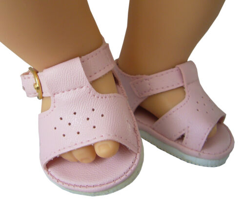Doll Clothes fits Bitty Baby Pink Sandals 2 5//8 by 1 1//2 inches