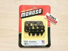 Moroso 72163 Ignition Spark Plug Wire Loomseparators 7mm 8mm 9mm Black Polymer