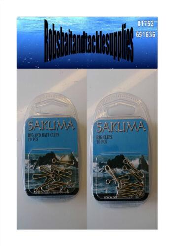 Sakuma Rig and bait clips Sakuma Rig clips
