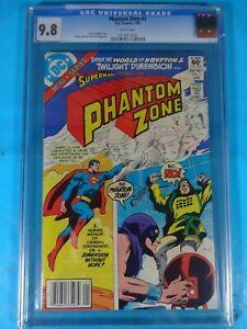 CGC-Comic-graded-9-8-Phantom-Zone-DC-1-Key-issue