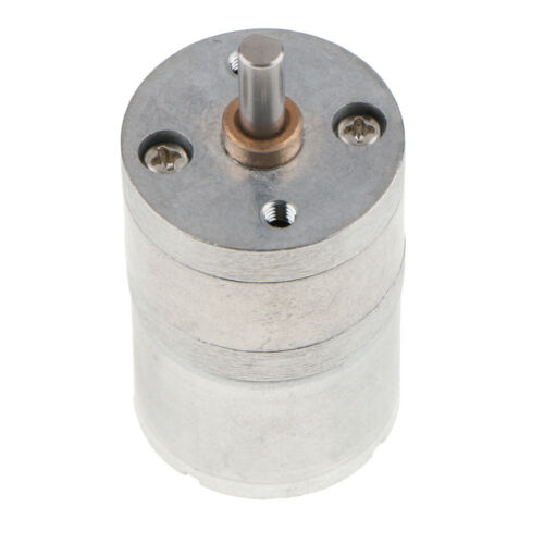 DC6V Speed Reduction DC Brushless Gear Motor Gearbox Multiple RPM Choices