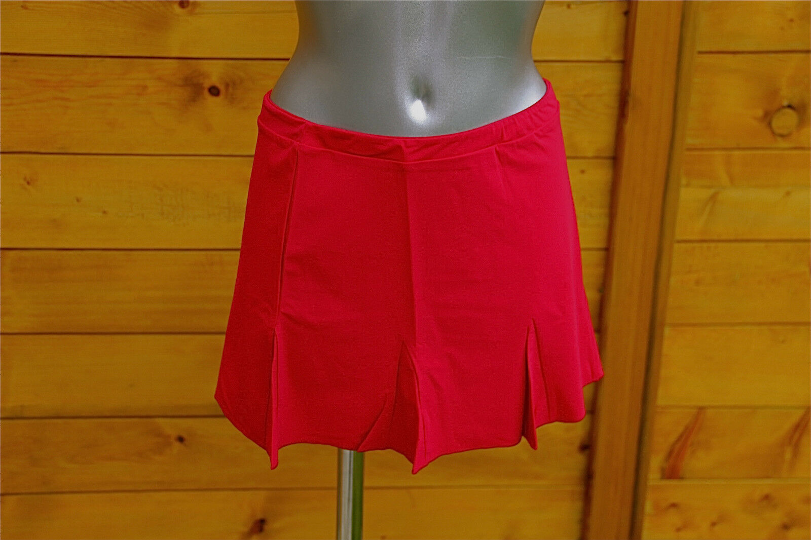Mini skirt lycra red luxe VANNINA VESPERINI size 42 NEW LABEL value