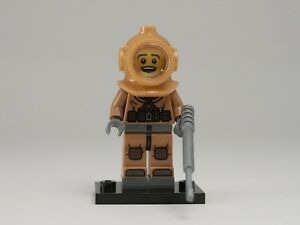 NEW-LEGO-MINIFIGURES-SERIES-8-8833-Diver
