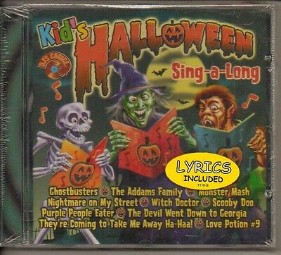 Kids Halloween Sing-A-Long by DJ's Choice (CD, Oct-2000, Turn Up the Music)