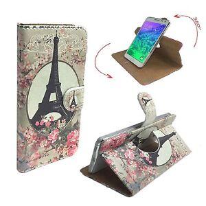 Mobile-Phone-Wallet-Case-For-Gionee-Marathon-M5-mini-pictures-Paris-Roses-M